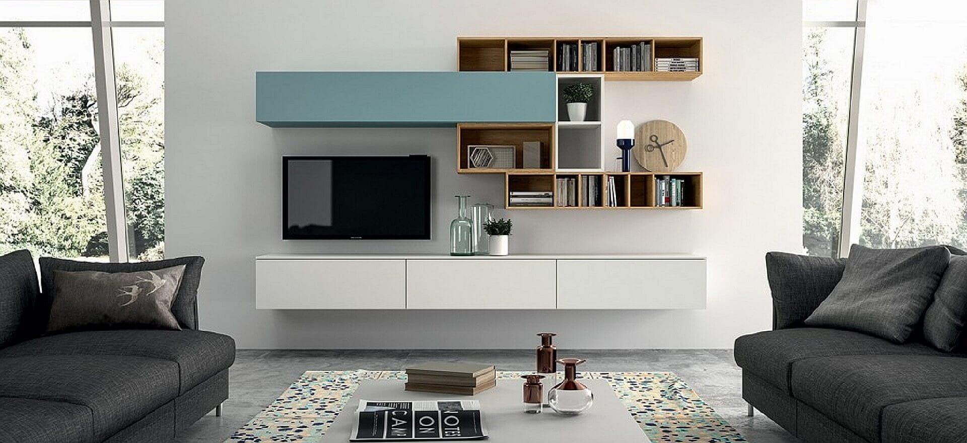 tv meubel shop hangend dressoir op maat