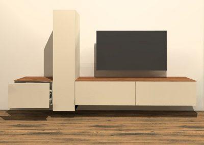 tv meubel hangend H120