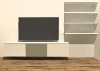 hangend tv meubel H121
