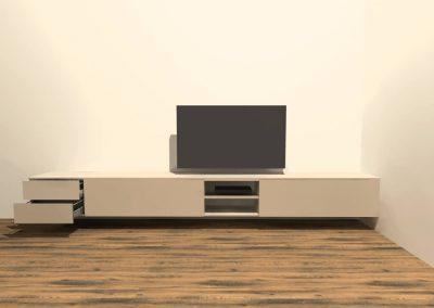 hangend tv meubel H122