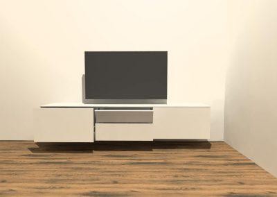 hangend tv meubel H123