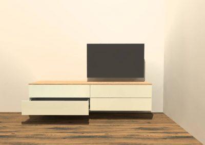 hangend tv meubel H125