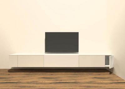 hangend tv meubel H127