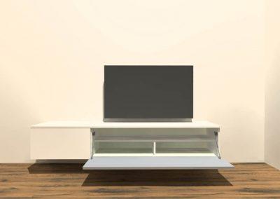 hangend tv meubel H128