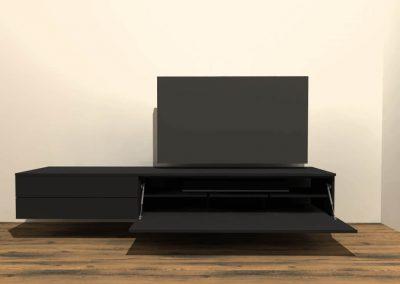 tv meubel hangend H129