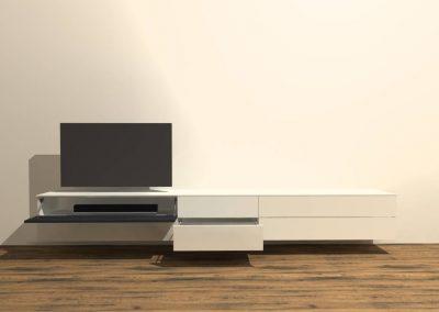 tv meubel hangend model H133