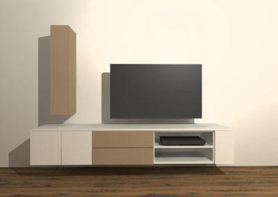 tv meubel hangend model H134