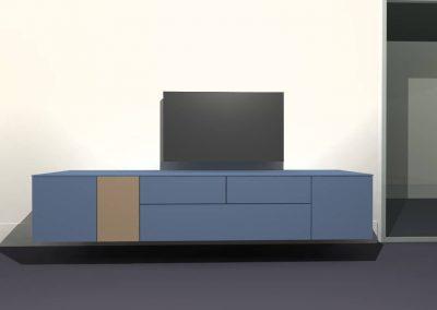 tv meubel hangend model H135