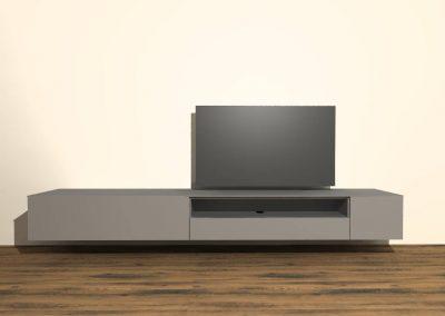 tv meubel hangend H137