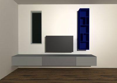 tv meubel hangend model H139