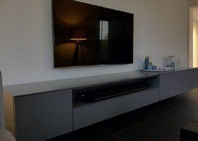 hangend tv meubel voor sonos soundbar