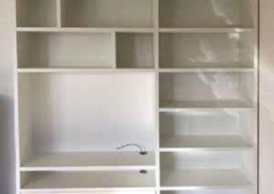 boekenkast met tv unit