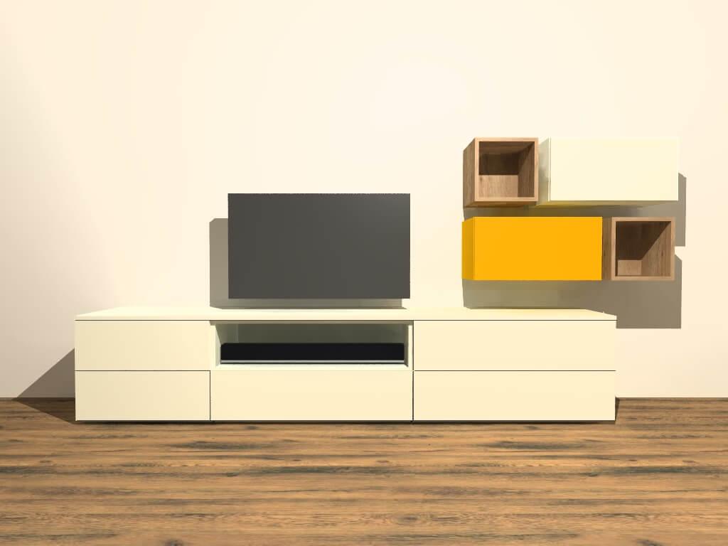 modulair tv meubel M401 op maat