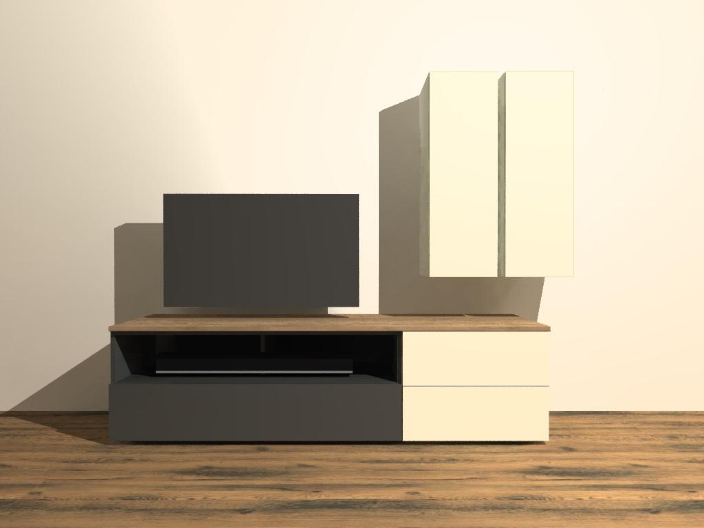 modulair tv meubel M402 op maat