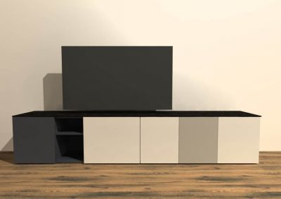 tv meubel staand S215