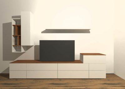 tv meubel staand S216