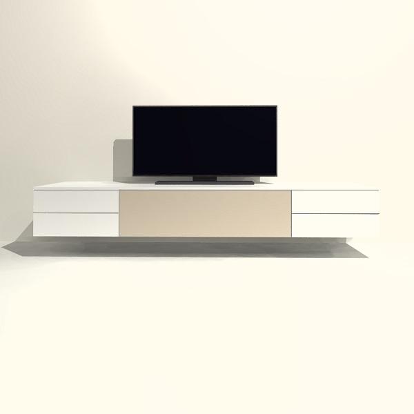Zwevende Tv Kast.Tv Meubel Hangend H05