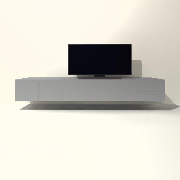Zwevende Tv Kast.Tv Meubel Hangend H06