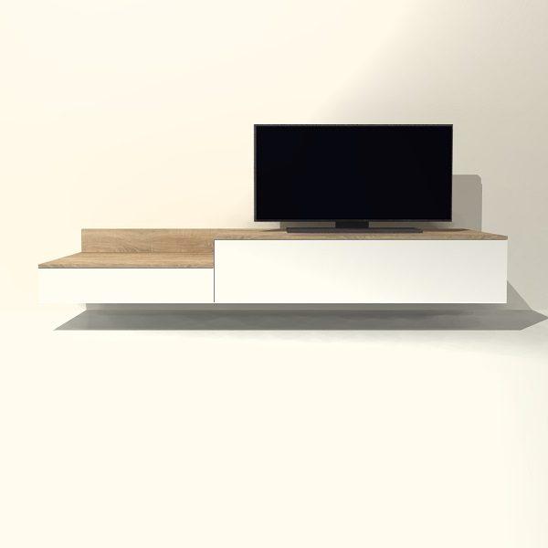 Een Tv Meubel.Tv Meubel Hangend H08