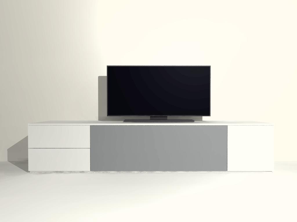 Staand tv meubel S04 op maat
