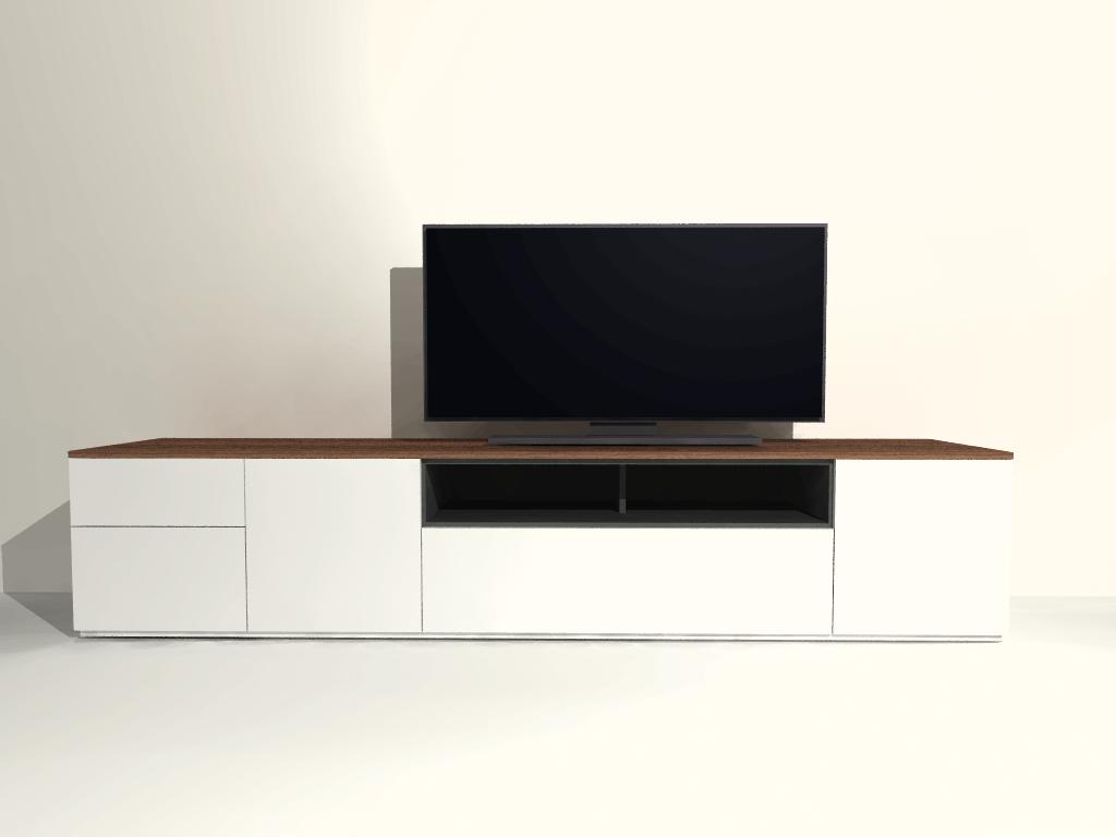 staand tv meubel S07 op maat