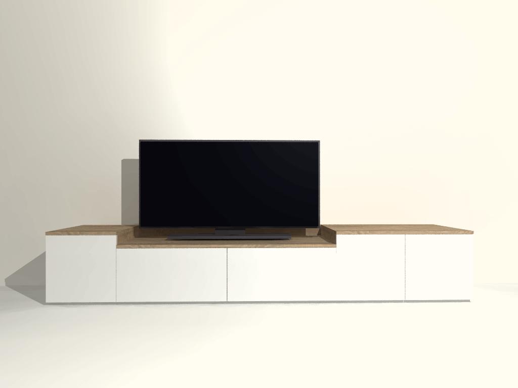 staand tv meubel S09 op maat