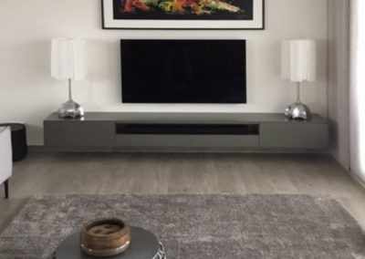 zwevend tv meubel op maat voor sonos soundbar